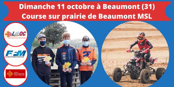 Dimanche 11 octobre à Beaumont (31)