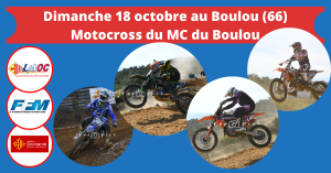 Dimanche 18 octobre au Boulou (66)
