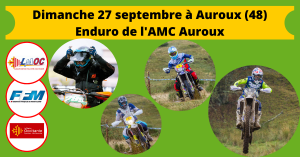 Dimanche 27 septembre à Auroux (48)