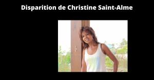 Disparition de Christine Saint-Alme
