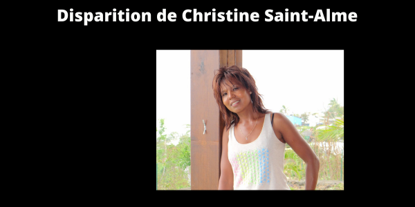Disparition de Christine Saint-Alme