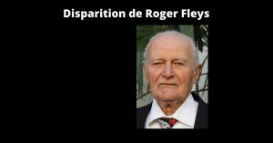 Disparition de Roger Fleys
