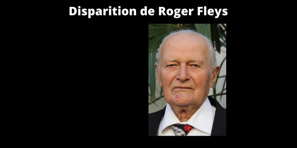 Disparition de Roger Fleys