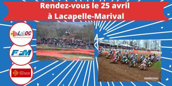 Rendez-vous le 25 avril à Lacapelle-Marival