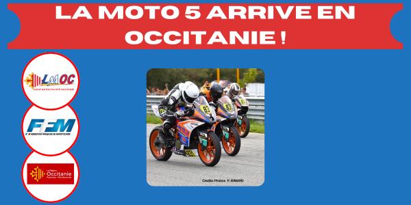 La Moto 5 arrive en Occitanie !